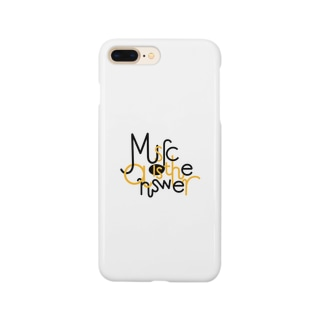 music is the answer Smartphone cases