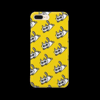 のべ子のウオーッねこ Smartphone cases