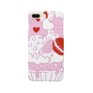 ラブリーMAXケーキいちごみるく Smartphone cases