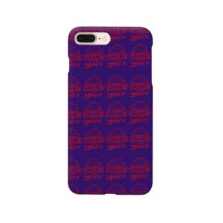 YMST パープル×レッド Smartphone cases
