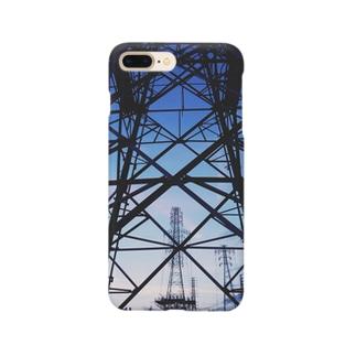 鉄塔の向こう側 Smartphone cases