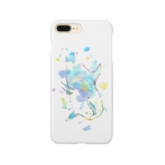 いるかのスマホカバー  BLUE☺︎ Smartphone cases