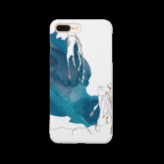 砂まみれのくらげ Smartphone cases