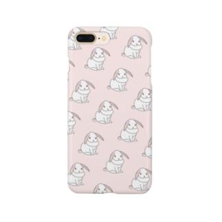 ♡うさぎピンク♡ Smartphone cases