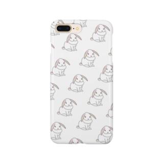 ♡うさぎホワイト♡ Smartphone cases