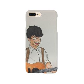 夢見ビト【ギター】 Smartphone cases