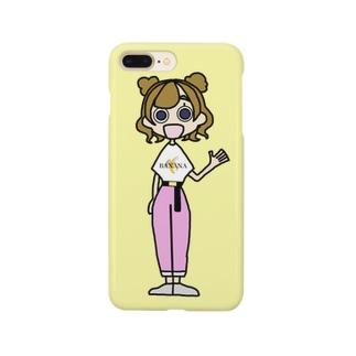 ばななちゃん  Smartphone cases