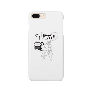 goodjob!! by グレートタイガー Smartphone cases