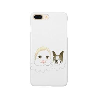 まぶだち Smartphone cases