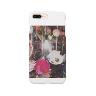 パンダとにらめっこ Smartphone cases