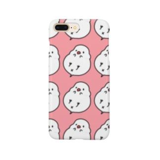 白文鳥ぱたーん Smartphone cases