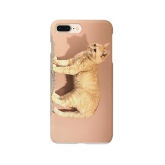 置き物みゅーちゃん Smartphone cases