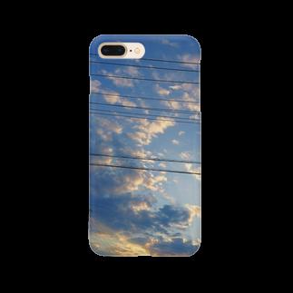 fuuku-sの空と電線と Smartphone cases