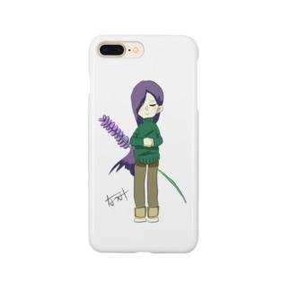 ラベンダーちゃん Smartphone cases