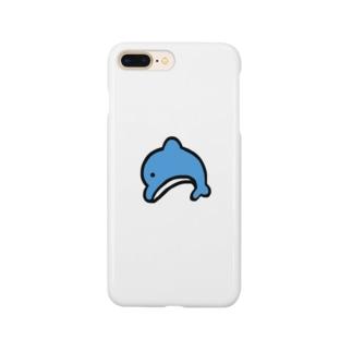 イルカいるからいいや スマートフォンケース