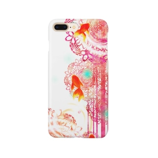 夏空金魚 Smartphone cases