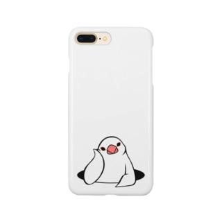 アンニュイ文鳥 Smartphone cases