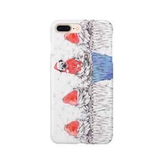 カップパグケーキ Smartphone cases