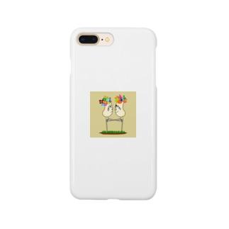 オハナトアヒル Smartphone cases