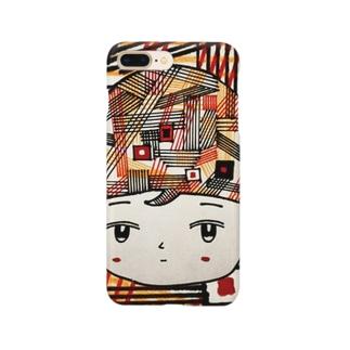 レトロフューチャー女子 Smartphone cases