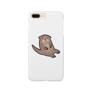 カワウソ Smartphone cases