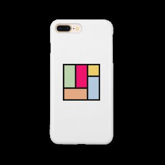minato128のカラフル四畳半 Smartphone cases