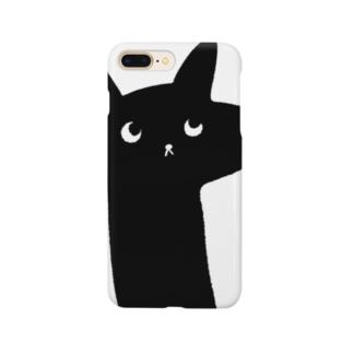 ラッキー猫 スマートフォンケース