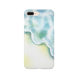 sea blue Smartphone cases