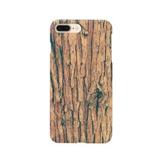 スギ樹皮 Smartphone cases
