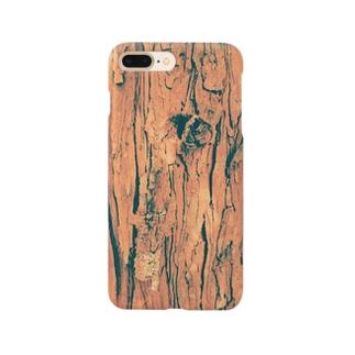 ヒノキの樹皮 Smartphone cases