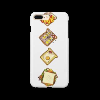 nakanaka11のトーストベット Smartphone cases