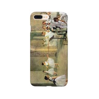 ドガ「オペラ座の稽古場(ル・ペルティエ街のオペラ座のバレエ教室、踊りの審査)」 Smartphone cases