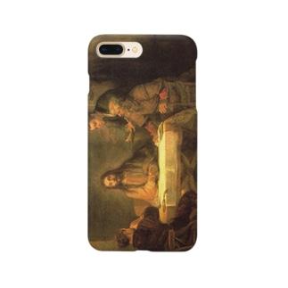 レンブラント「エマオの晩餐」 Smartphone cases