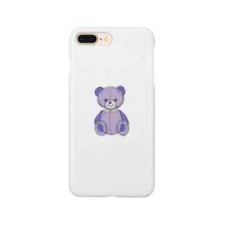 Purple Bear Smartphone cases