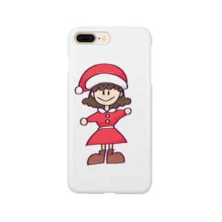 サンタちゃん Smartphone cases
