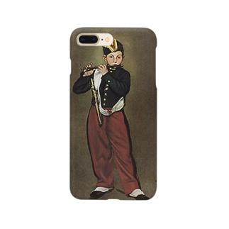 マネ「笛を吹く少年」 Smartphone cases