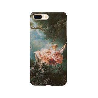 フラゴナール「ブランコ」 Smartphone cases