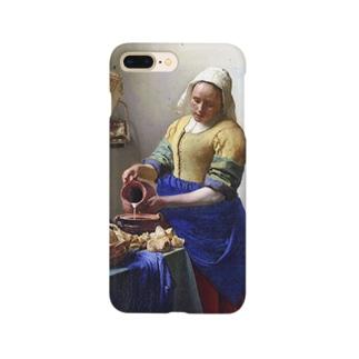 フェルメール「牛乳を注ぐ女」 Smartphone cases