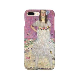 クリムト「メーダ・プリマヴェージの肖像」 Smartphone cases