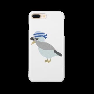 chicodeza by suzuriのカモメの水兵さん Smartphone cases