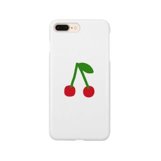 さくらんぼ Smartphone cases
