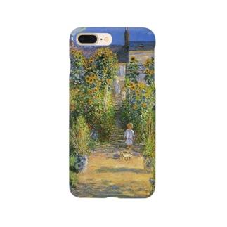 モネ「ヴェトゥイユの画家の庭園」 Smartphone cases