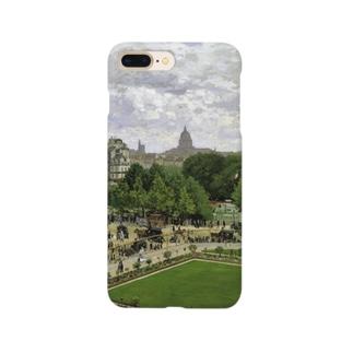 モネ「王女の庭園」 Smartphone cases