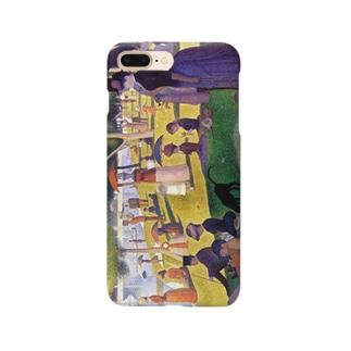 スーラ「グランド・ジャット島の日曜日の午後」 Smartphone cases