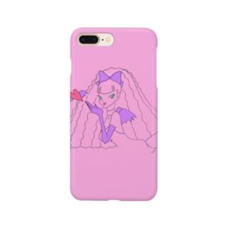 毛量すごい悪魔っこ Smartphone cases