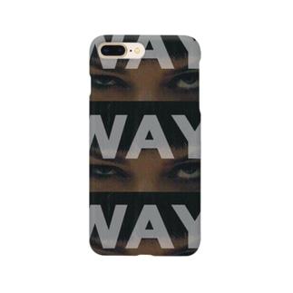 WAY. iPhoneケース Smartphone cases