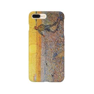ゴッホ「種まく人」 Smartphone cases