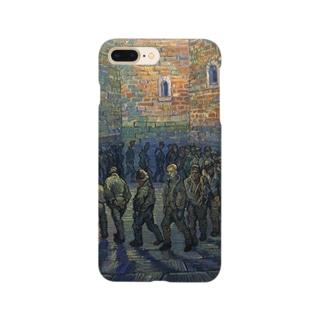 ゴッホ「刑務所の中庭」 Smartphone cases
