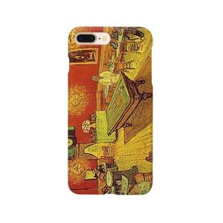 ゴッホ「夜のカフェ」 Smartphone cases