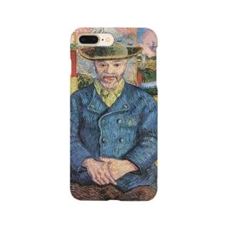 ゴッホ「タンギー爺さんの肖像」 Smartphone cases